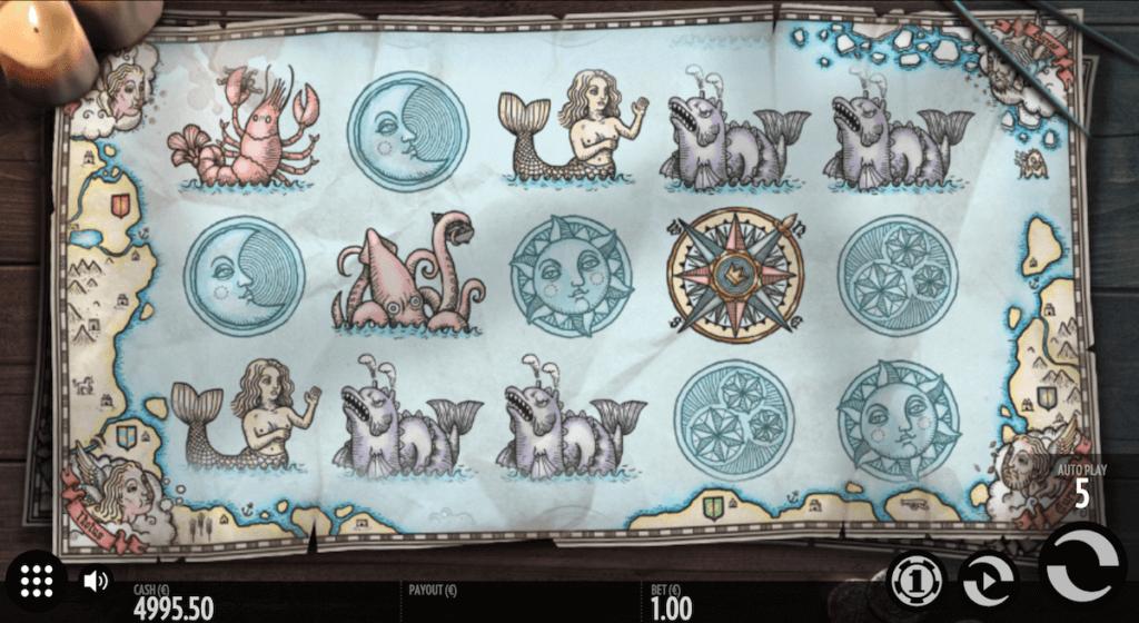 1429 Uncharted Seas pokie
