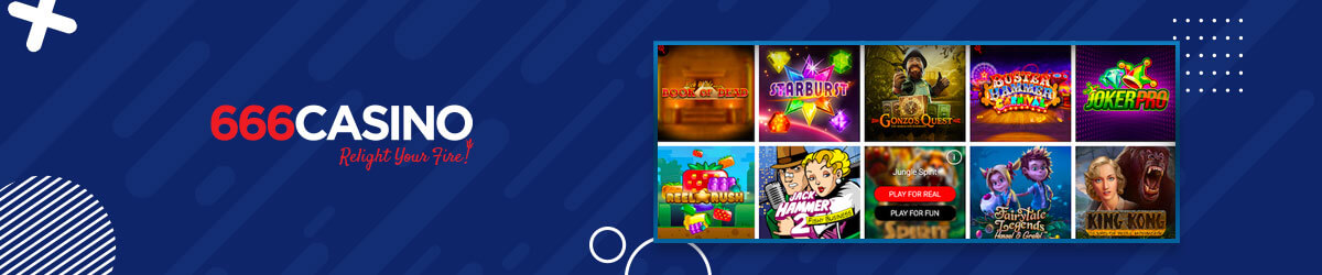 666 Casino games