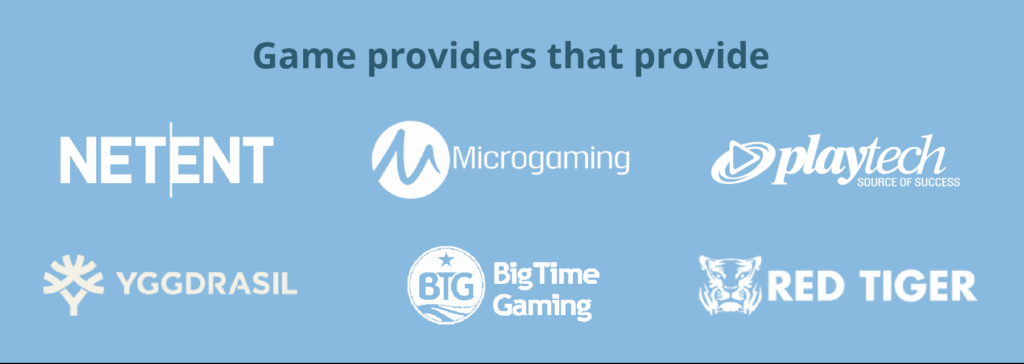 game providers that provide