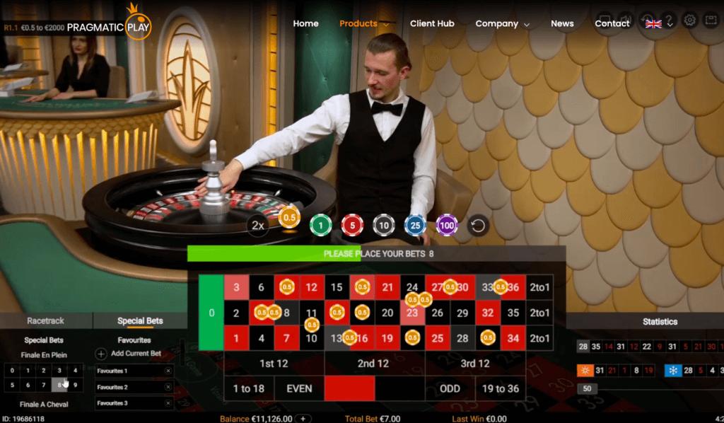 Pragmatic Play's Live Casino