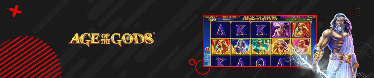 Best progressive slots - Age of the gods