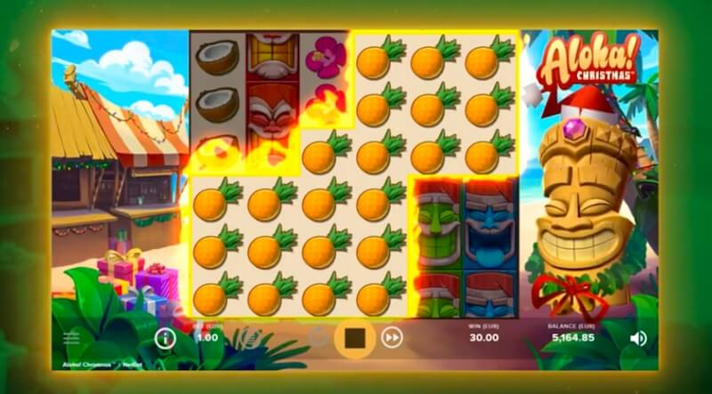 Aloha Christmas Edition Slot Review