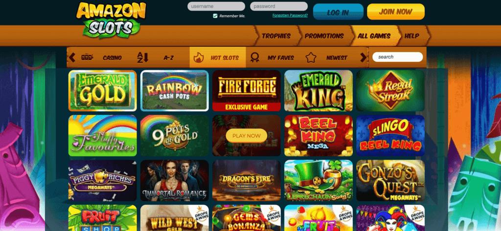 amazonslots nz new casino