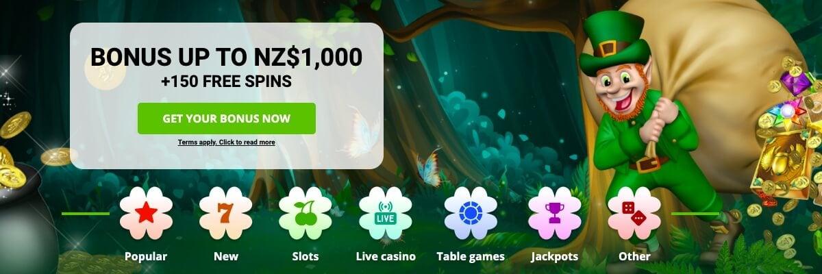 BetPat Casino welcome bonus!