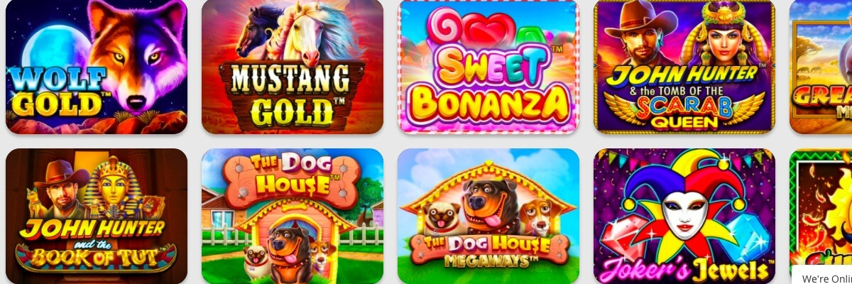 betPat Casino games