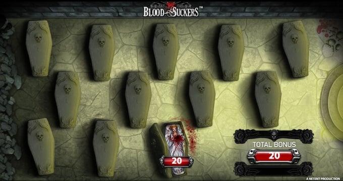 Blood Suckers bonus game