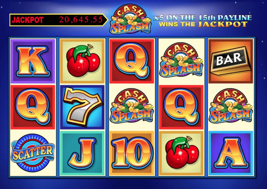 cash splash online slot
