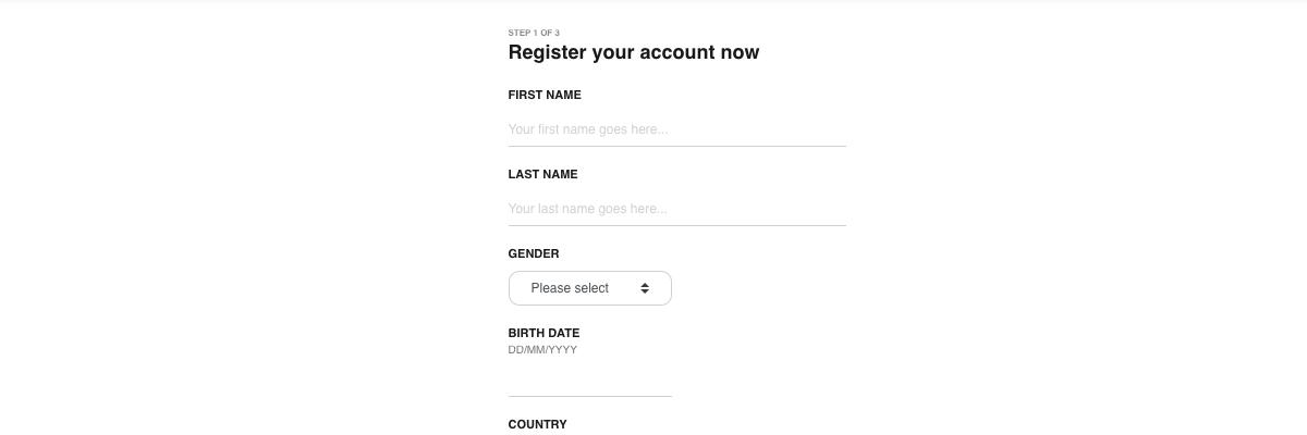 CasiGo registration