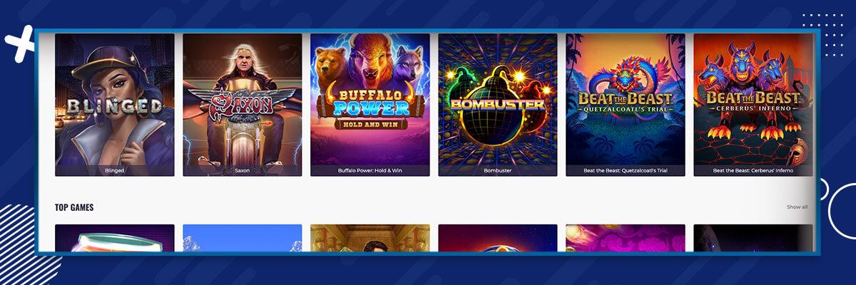 CasinoDays games