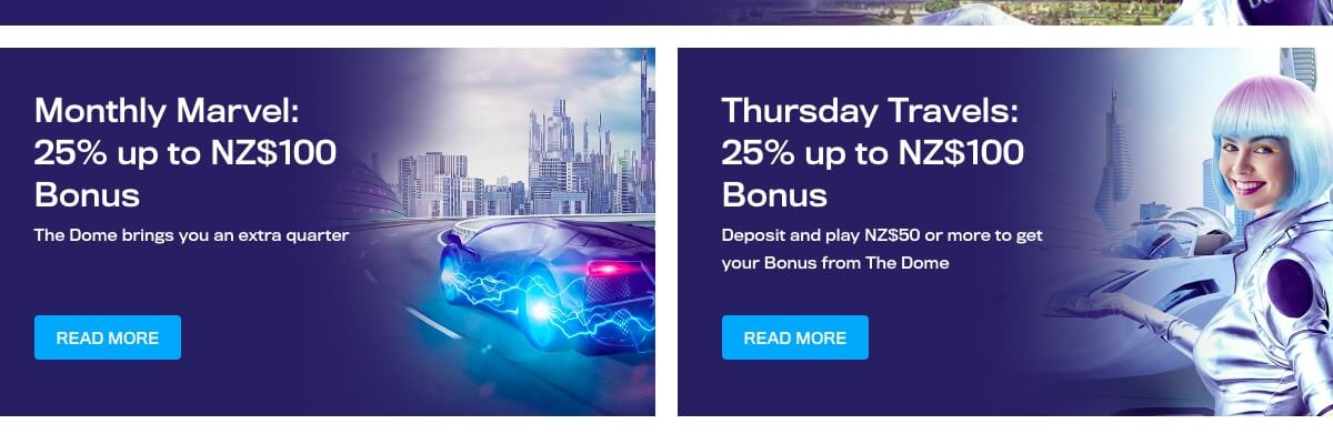 Casino Dome promotions