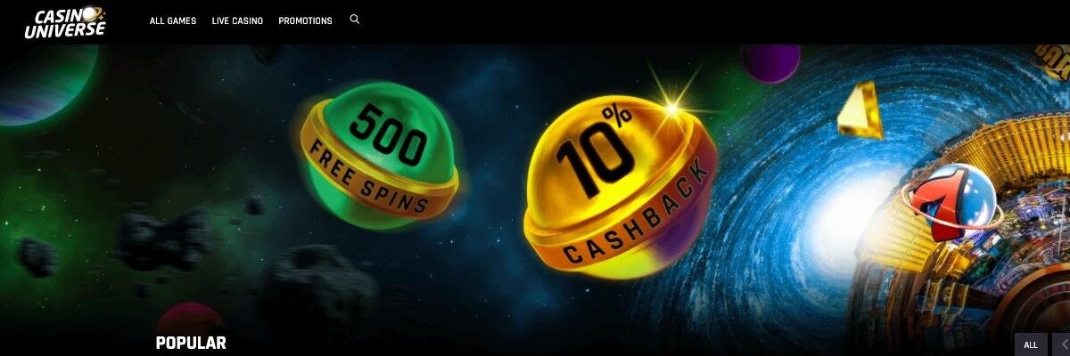 Casino Universe NZ