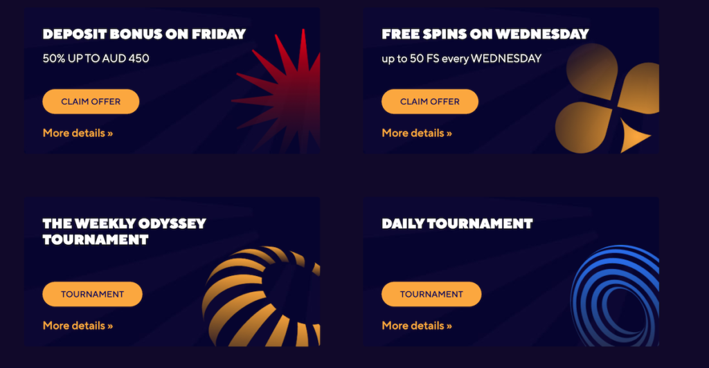 Dazard casino promotions for NZ players