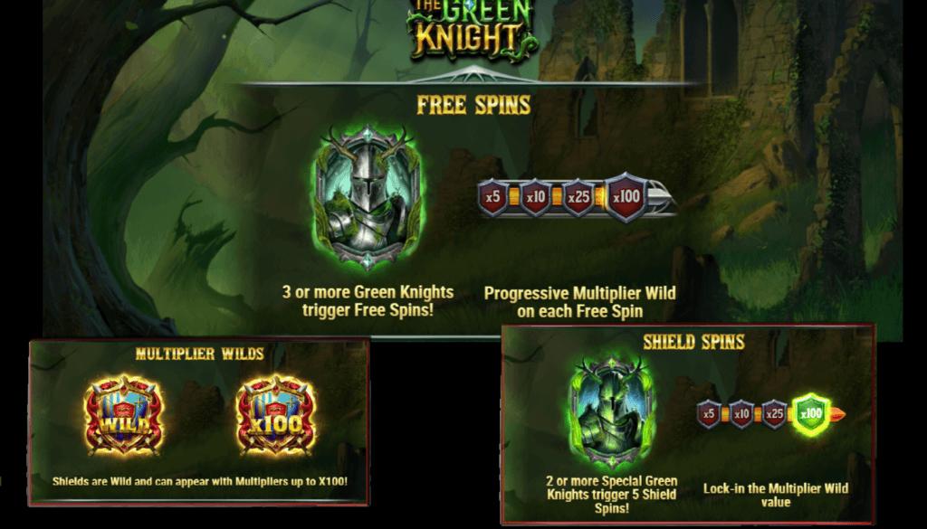 the green knight pokie nz