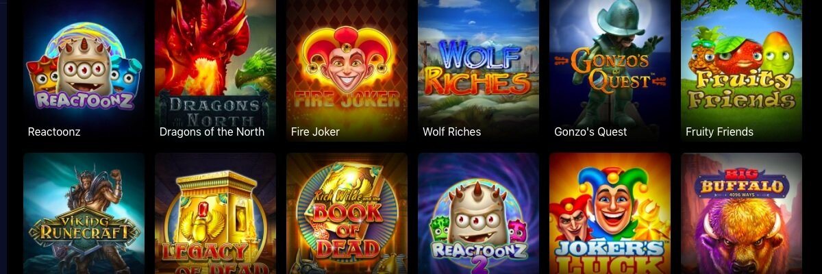 Griffon Casino games