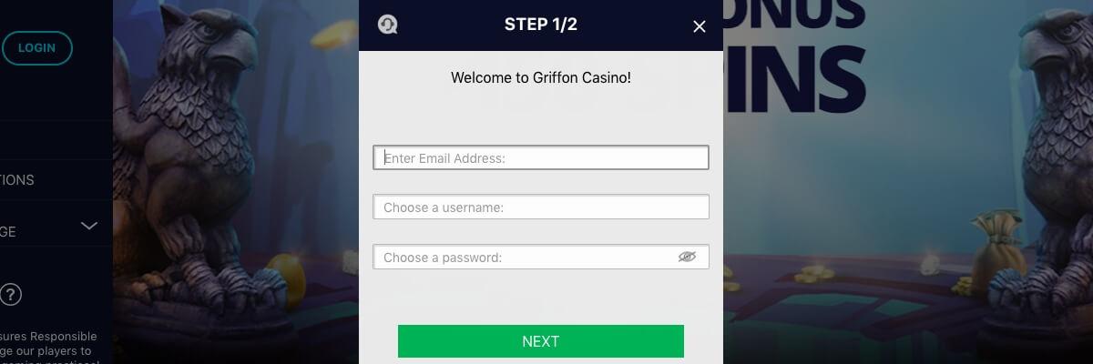 Griffon registration