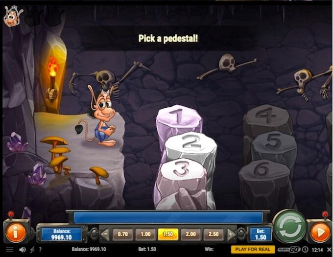Hugo 2 bonus game