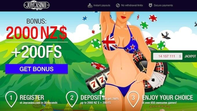 Joy Casino New Zealand