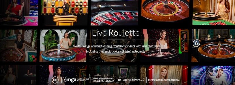 live roulette_evolution gaming