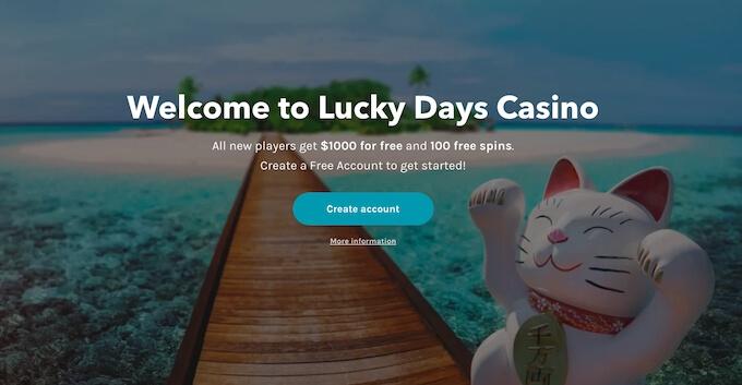 Casino Lucky Days