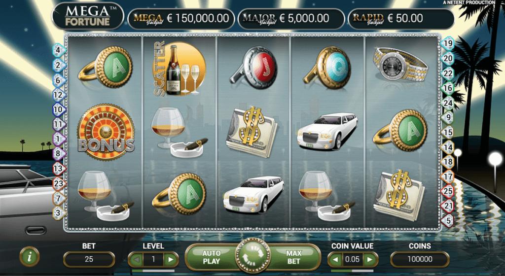 mega fortune online slot