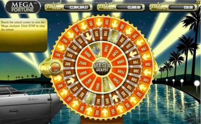 Mega Fortune Bonus Wheel