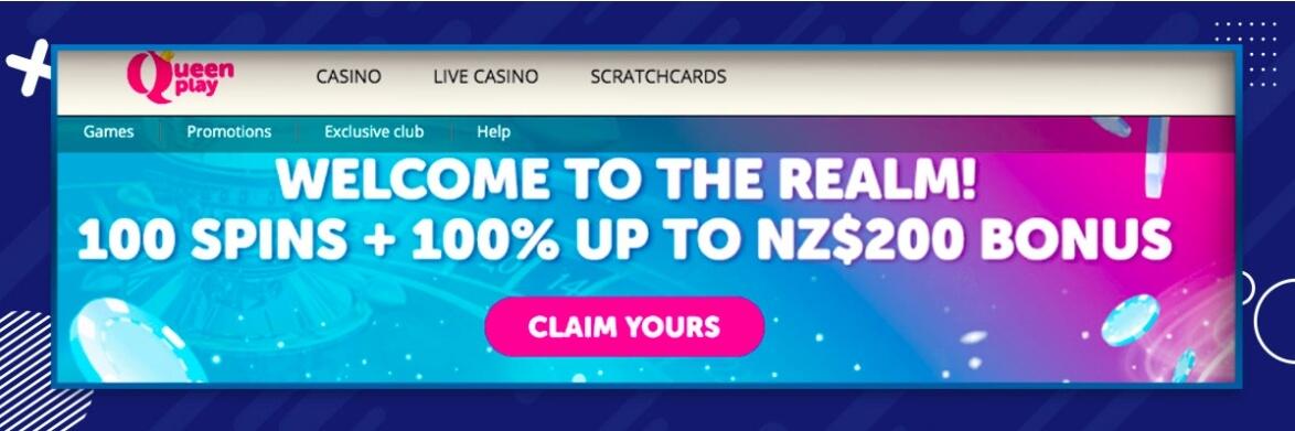 new online casinos new zealand - queenplay