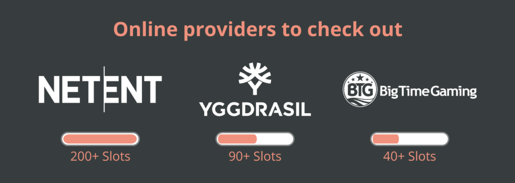 online providers to check out