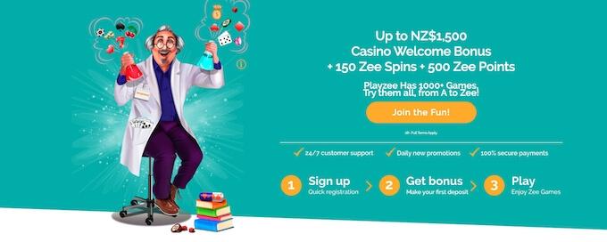 Playzee Casino NZ