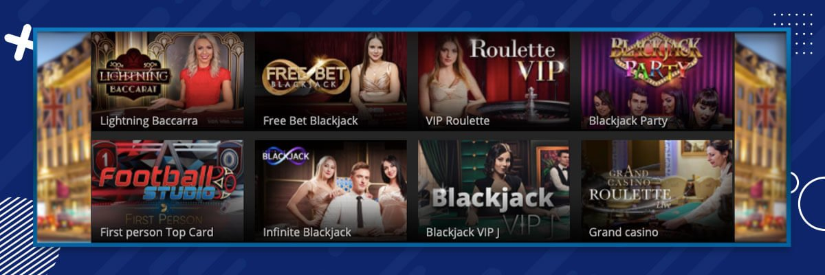 Regent Casino Live Casino