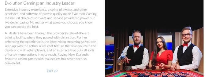 Casino Ruby Fortune NZ
