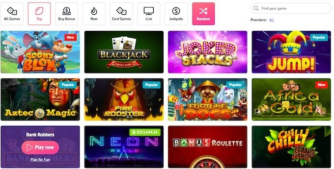 slotum online casino games