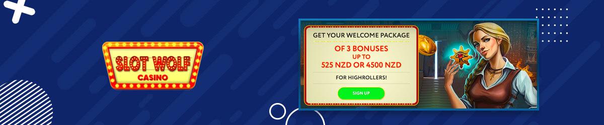 Slot Wolf welcome bonus