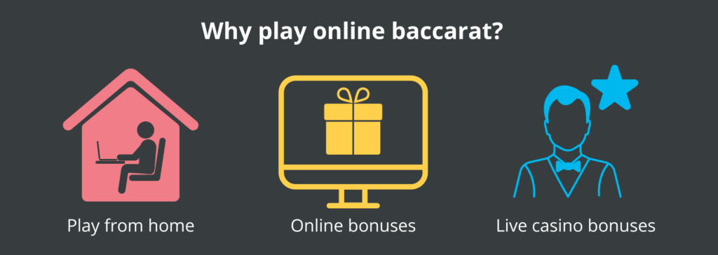 why play baccarat online?