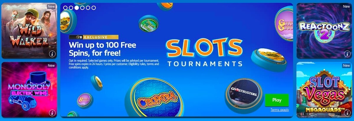 William Hill Casino NZ tournaments