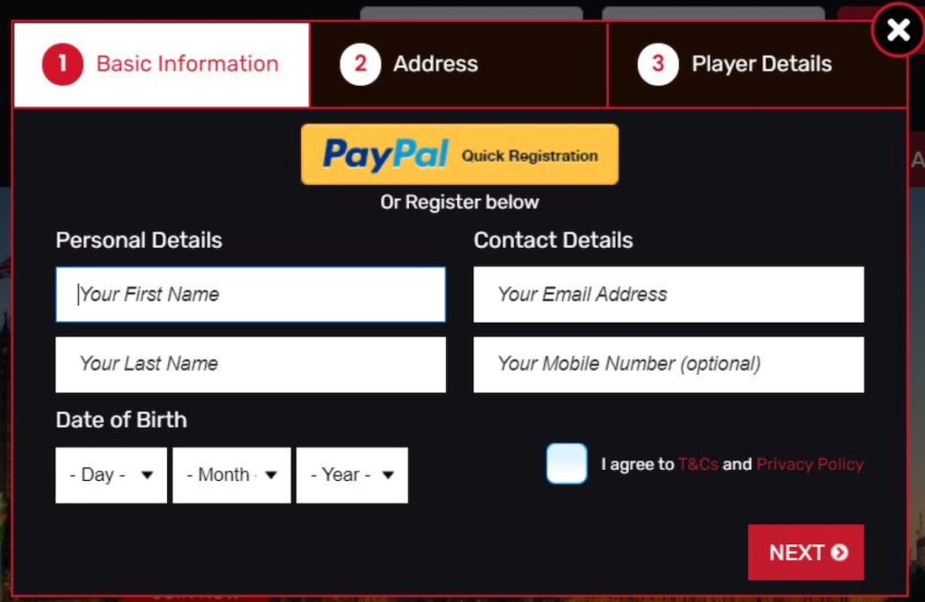 winbritish registration